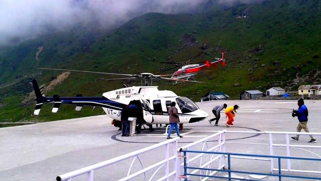 kedarnath Temple helicopter service