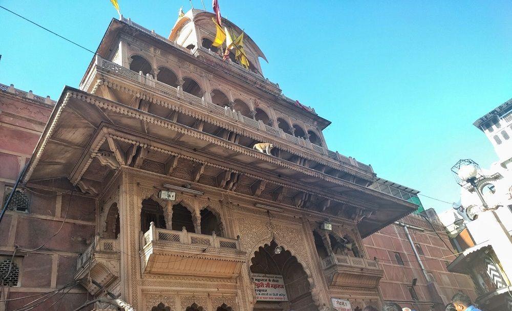 Banke Bihari temple Mathura