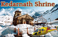 Helicopter services to Kedarnath Shrine