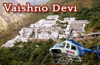 Helicopter services to Vaishno Devi Shrine